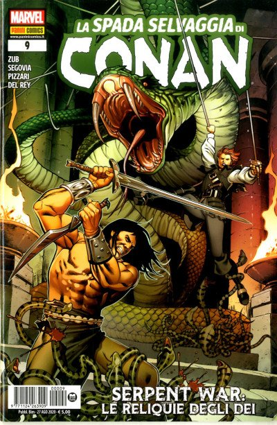 Spada Selvaggia Di Conan - N° 9 - La Spada Selvaggia Di Conan - Panini Comics