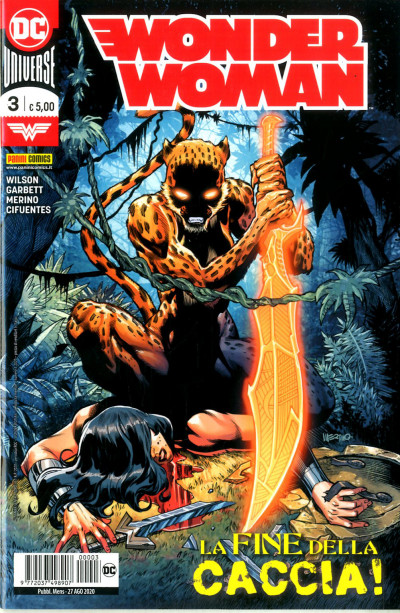 Wonder Woman - N° 3 - Wonder Woman - Panini Comics