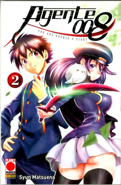 Agente 008 - N° 2 - Manga Drive 23 - Panini Comics