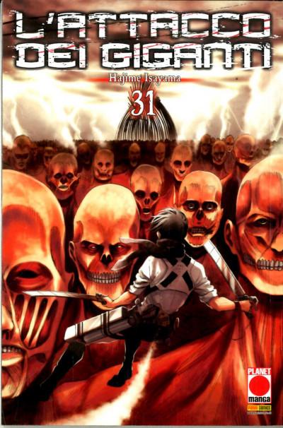 Attacco Dei Giganti - N° 31 - Generation Manga 31 - Panini Comics