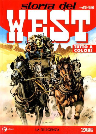 Storia Del West Ristampa - N° 18 - La Diligenza - Bonelli Editore