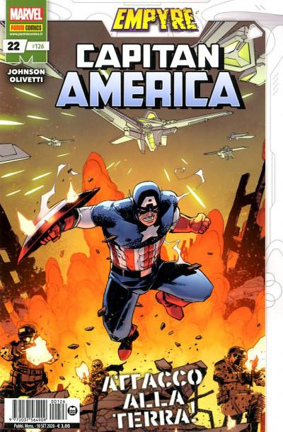 Capitan America (Nuova Serie) - N° 126 - Capitan America 22 - Panini Comics