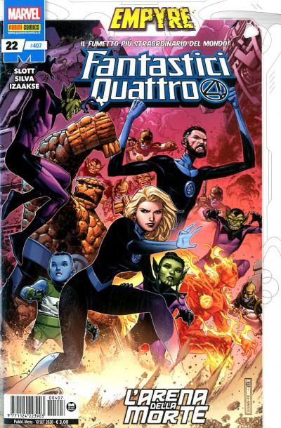 Fantastici Quattro - N° 407 - Fantastici Quattro 22 - Panini Comics