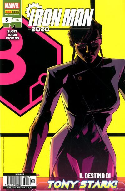Iron Man - N° 87 - Iron Man 2020 5 - Panini Comics