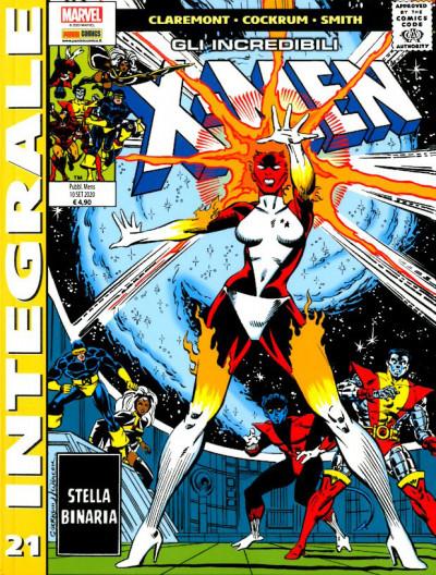 X-Men Di Chris Claremont - N° 21 - Gli Incredibili X-Men 21 - Marvel Integrale Panini Comics