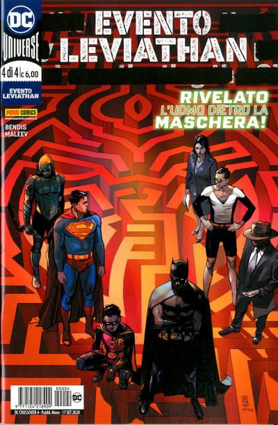 Dc Crossover - N° 4 - Evento Leviathan 3 - Panini Comics
