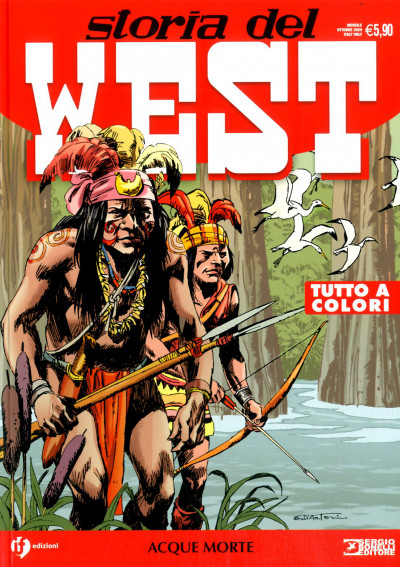 Storia Del West Ristampa - N° 19 - Acque Morte - Bonelli Editore
