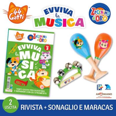 44 Gatti & Lo Zecchino d'Oro - Evviva la Musica
