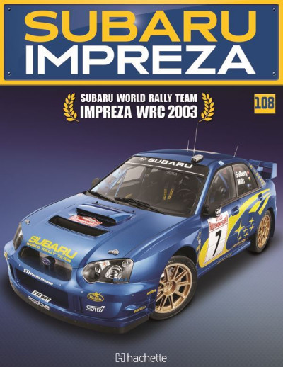 Costruisci la Subaru Impreza WRC 2003 uscita 108