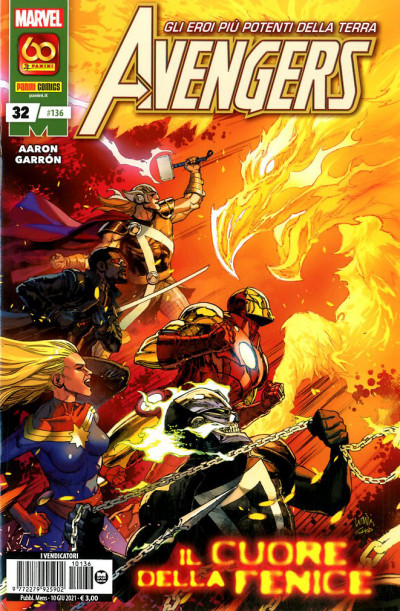 Avengers - N° 136 - Avengers 32 - Panini Comics