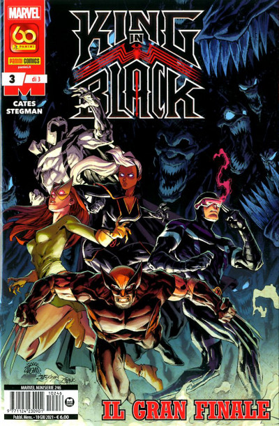 Marvel Miniserie - N° 246 - King In Black 3 - Panini Comics