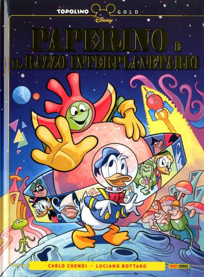 Topolino Gold - N° 3 - Paperino E Il Razzo Interplanetario - Panini Comics