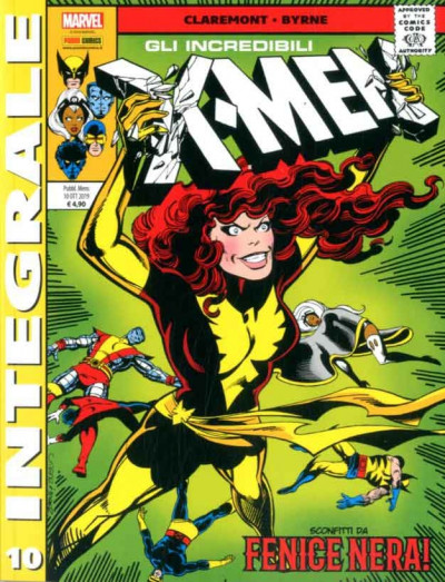 X-Men Di Chris Claremont - N° 10 - Gli Incredibili X-Men - Marvel Integrale Panini Comics