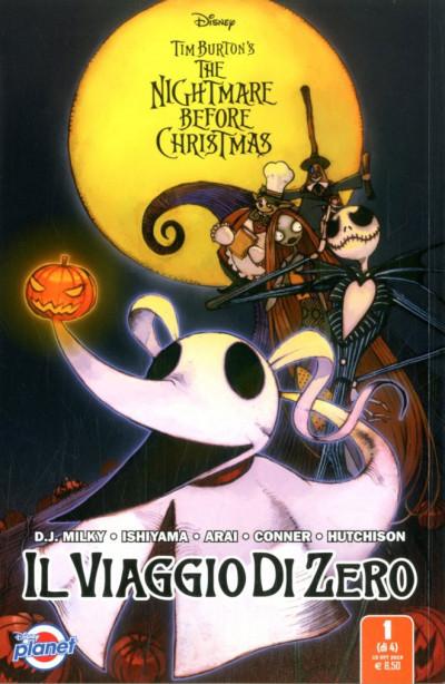 Nightmare Before Christmas - N° 1 - Il Viaggio Di Zero 1 (M4) - Planet Disney Panini Comics