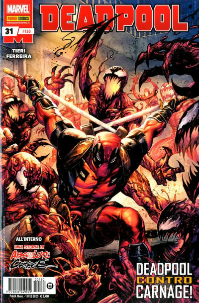 Deadpool Serie - N° 150 - Deadpool 31 - Panini Comics