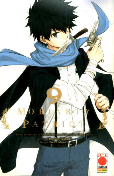 Moriarty The Patriot - N° 9 - Manga Storie Nuova Serie 83 - Panini Comics