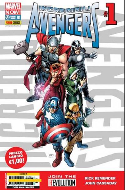 Incredibili Avengers - N° 1 - Incredibili Avengers - Marvel Now Marvel Italia