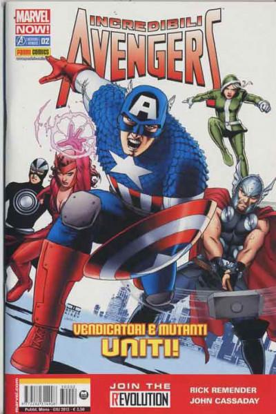 Incredibili Avengers - N° 2 - Marvel Now! - Marvel Now! Marvel Italia