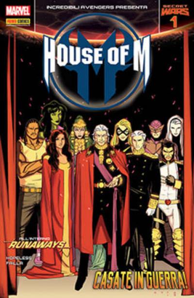 Incredibili Avengers - N° 29 - House Of M 1 - Incredibili Avengers Presenta Marvel Italia