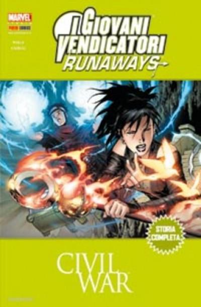 Marvel Mega - N° 39 - Civil War-Runaways/I Giovani Vendicatori - Marvel Italia