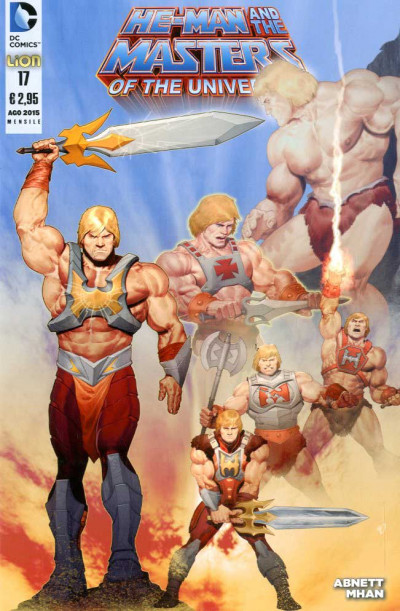 He-Man And The Masters Of... - N° 17 - He-Man And The Masters Of The Universe - Rw Lion