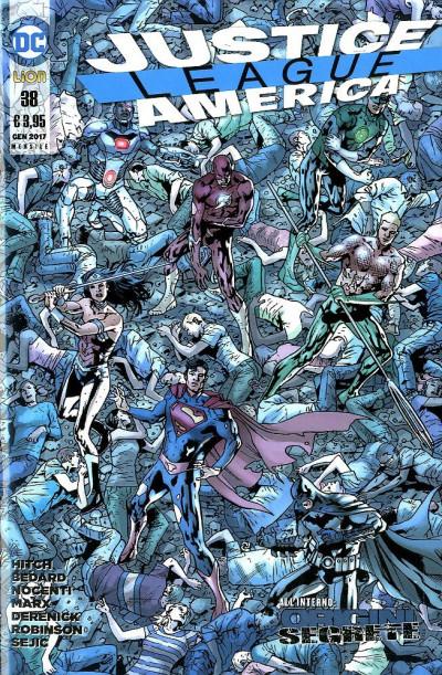 Justice League America - N° 38 - Justice League America - Rw Lion