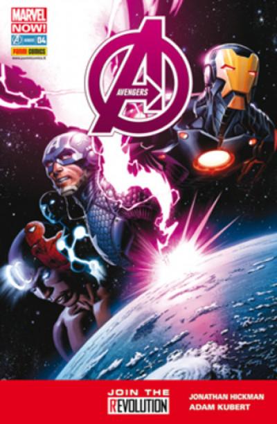 Avengers - N° 4 - Avengers - Avengers Marvel Italia
