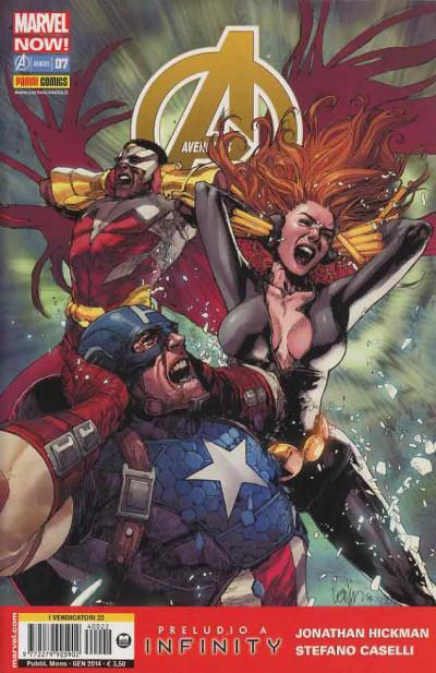 Avengers - N° 7 - Avengers - Avengers Marvel Italia