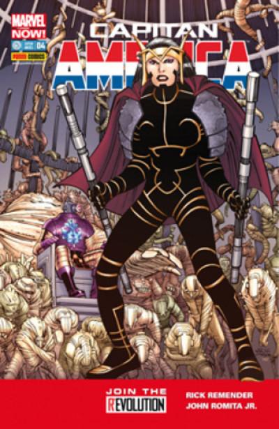 Capitan America (Marvel Now!) - N° 4 - Capitan America & Secret Avengers - Capitan America Marvel Italia