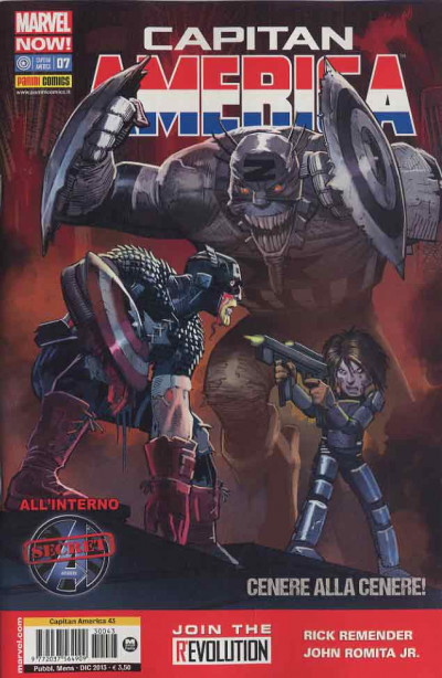Capitan America (Marvel Now!) - N° 7 - Capitan America & Secret Avengers - Capitan America Marvel Italia