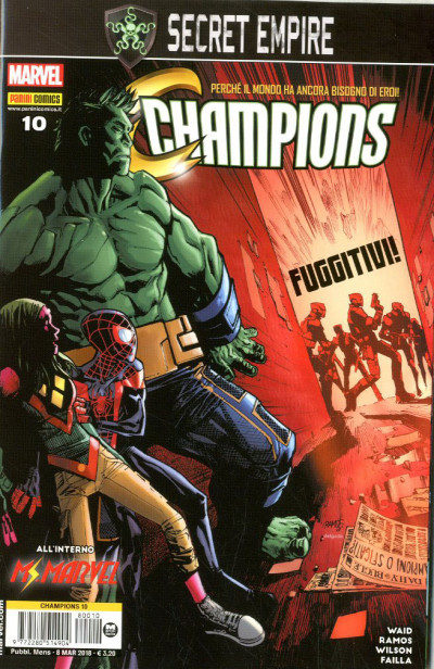 Champions - N° 10 - Champions - Marvel Italia