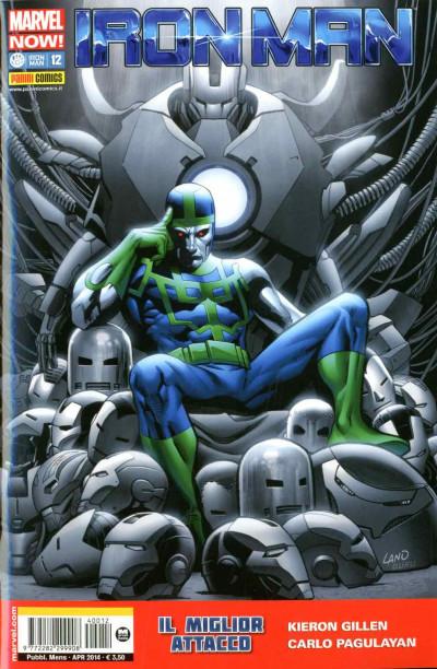 Iron Man - N° 12 - Iron Man & New Avengers - Marvel Italia