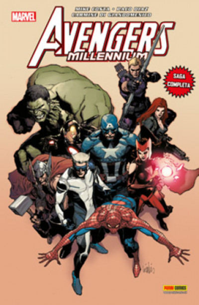 Marvel Crossover - N° 88 - Avengers Millenium - Marvel Italia