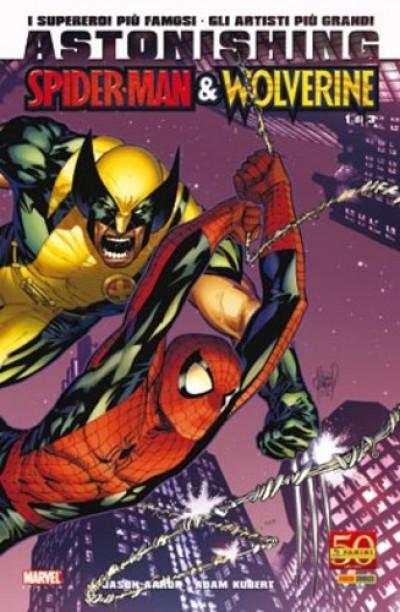 Marvel Miniserie - N° 115 - Astonishing: Spider-Man/Wolverine 1 (M3) - Astonishing Spider-Man & Wolverine Marvel Italia