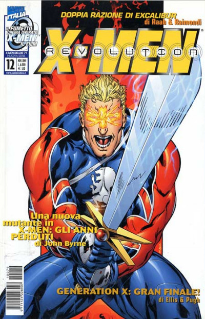 X-Men Deluxe - N° 79 - X-Men Revolution 12 - Marvel Italia