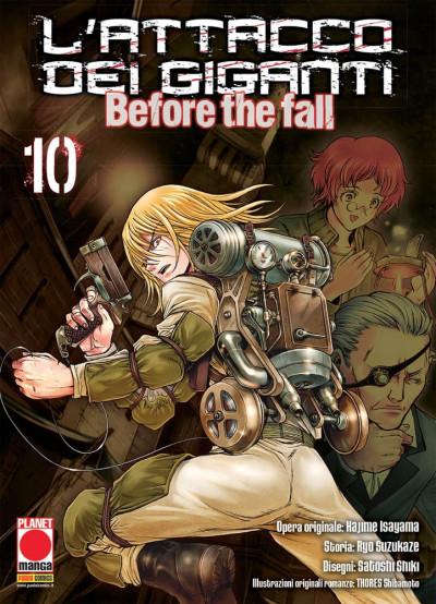 Attacco Dei Giganti Before The Fall - N° 10 - Attacco Dei Giganti Before The Fall - Manga Shock Planet Manga