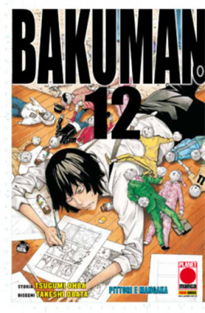 Bakuman - N° 12 - Bakuman (M20) - Planet Manga Presenta Planet Manga