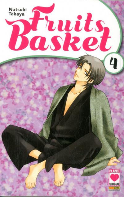Fruits Basket - N° 4 - Fruits Basket - Manga Kiss Planet Manga