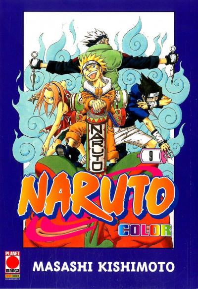 Naruto Color - N° 9 - Naruto Color - Planet Manga