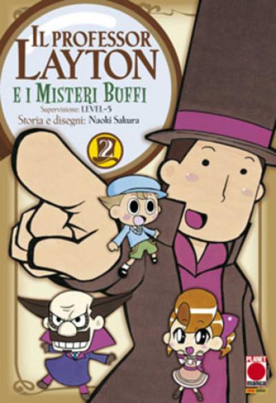 Professor Layton - N° 2 - Professor Layton E I Misteri Buffi - Manga Universe Planet Manga
