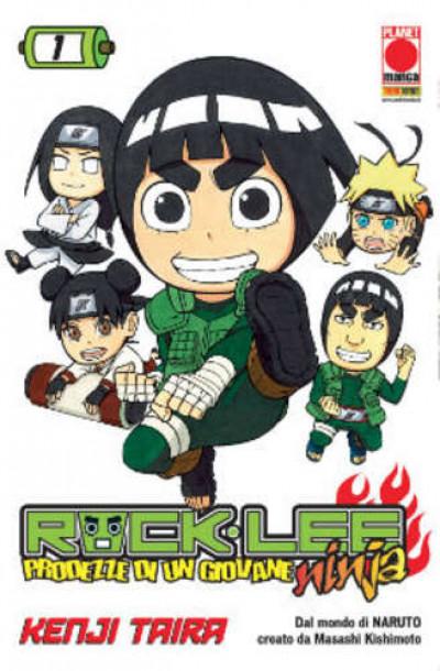 Rock Lee - N° 1 - Prodezze Di Un Giovane Ninja - Manga Rock Planet Manga