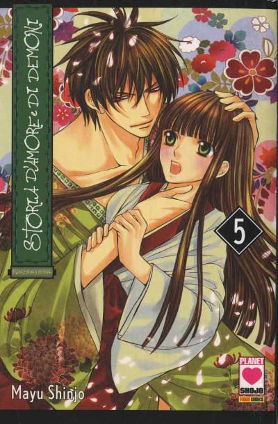 Storia D'Amore E Di Demoni - N° 5 - Storia D'Amore E Di Demoni - I Love Japan Planet Manga