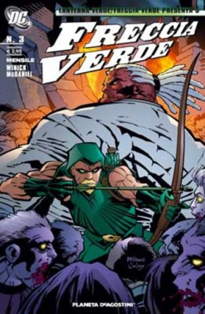 Lanterna V. Freccia V. Present - N° 5 - Freccia Verde 3 - Freccia Verde Planeta-De Agostini