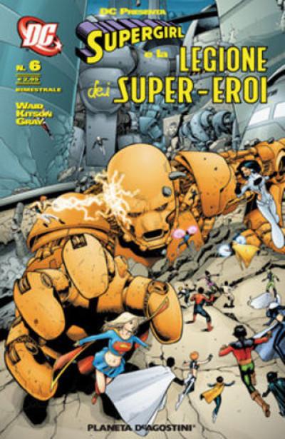 Supergirl Leg.S.E. Dc Presenta - N° 6 -  - Planeta-De Agostini