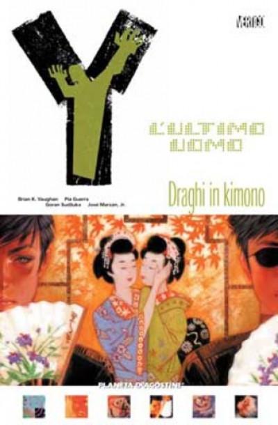 Y Ultimo Uomo (M11) - N° 9 - Draghi In Kimono - Planeta-De Agostini