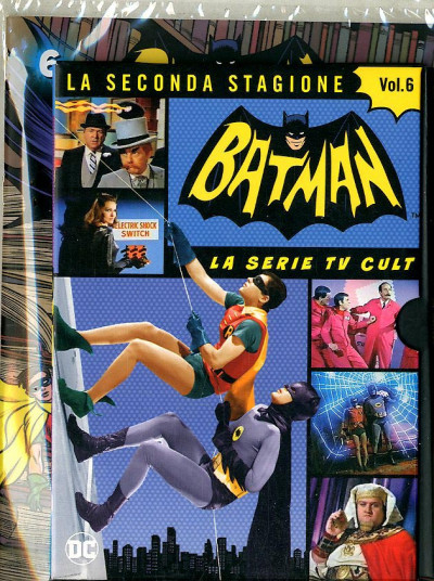 Batman '66 (Dvd + Fumetto) - N° 6 - Batman '66 - Rw Lion