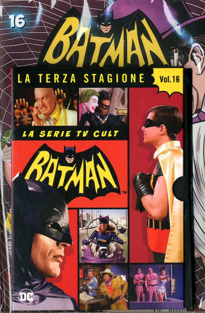 Batman '66 (Dvd + Fumetto) - N° 16 - Batman '66 - Rw Lion