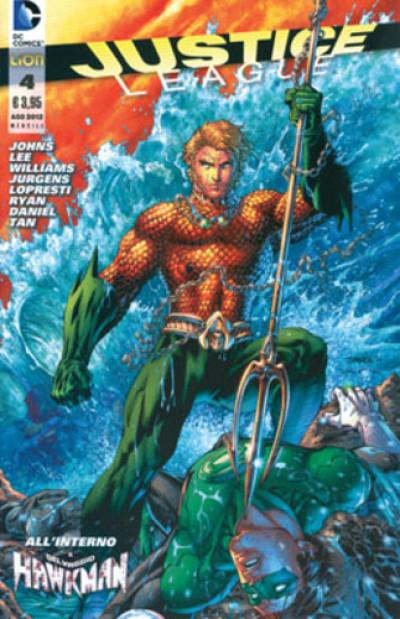 Justice League - N° 4 - Justice League - Rw Lion