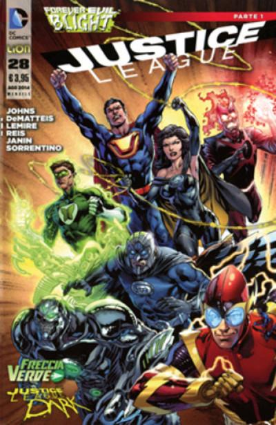 Justice League - N° 28 - Justice League - Rw Lion