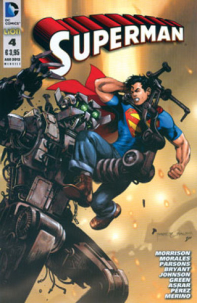 Superman 2012 - N° 4 - Superman - Rw Lion